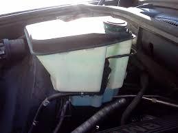 A plastic Wiper fluid tank