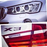 BMW X3 reverse and brake light LED bulb replacement