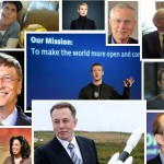 Collage of the 10 best billionaires