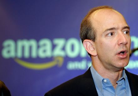 CEO of Amazon Jeff Bezos