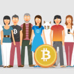 People using Bitcoin