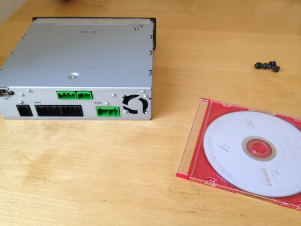 My disc and CD ROM to send to ShortCircuitRepair in San Jose